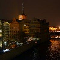 Ночь на Влтаве :: Ольга