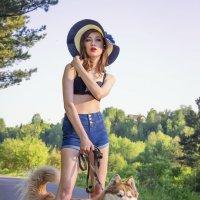 дама с собачкой :: Наталья Перепечина
