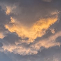 Грозовой закат :: Елена Баландина