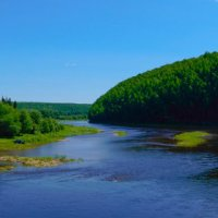 Река Усьва :: Алексей М
