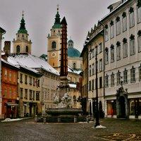 Виды Любляны (Словения) :: Андрей Кирилловых