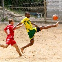 пляжный футбол :: Алексей