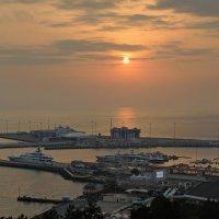 закат над бухтой :: Алексей Меринов