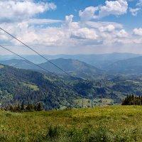 Вид с горы Тростян :: Владимир Хижко