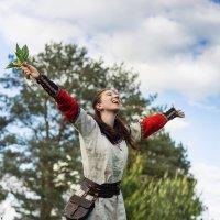 Счастливая девушка селянка :: Алексей Малахов