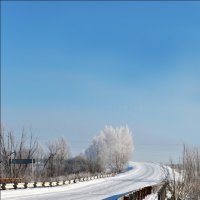 однажды зимой... :: Анастасия Стенюхина