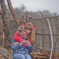 мама и дочурка :: Михаил Фенелонов
