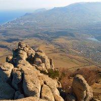 Вид с вершины Демерджи :: Владимир Павленко