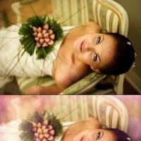 ретушь свадебной фотографии :: Анна Захарова