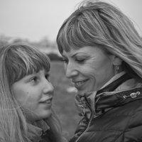 Мама и доча :: Михаил Фенелонов
