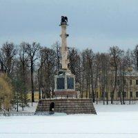 Чесменская колонна в Царском селе :: Олег Попков