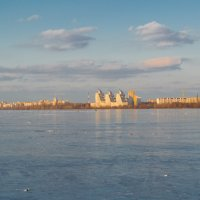 Вид с водохранилища :: Vladimir Lednev