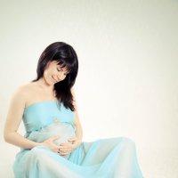 Беременность ей к лицу :: Ольга Лобанова