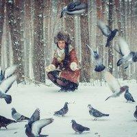 Зимняя прогулка :: Анна Саблина