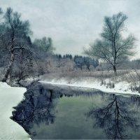Зимний этюд :: Виктор Перякин