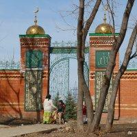 вход,мечеть :: владимир гребенников