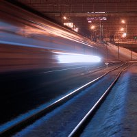 Ночные поезда :: Николай Алёхин