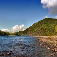 Сибирская Ока у горы Грифельной :: Виктор Никитин
