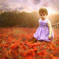 Девочка с гитарой :: Анастасия Аникеева
