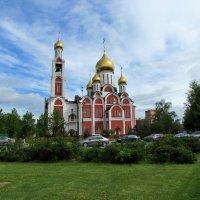 Храм Георгия Победоносца в Одинцове :: галина северинова
