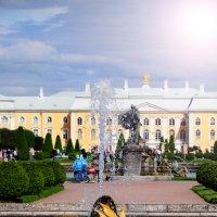 Петергофский фонтан :: Сергей Дячкин