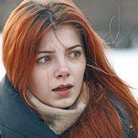 Девушка с огненными волосами :: Владимир Матва