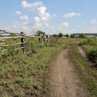 деревенский пейзаж :: Андрей ЕВСЕЕВ