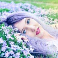 Blue magic :: Anastasia Lebedeva