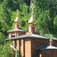 Вознесенский храм п Черёмушки г Саяногорск :: galina tihonova