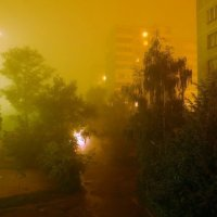 Ночной туман :: Алексей Митин