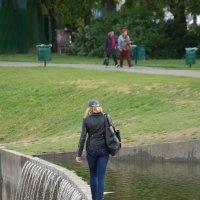 Прото-русалка, где-то в Будапеште :: Валентин Гринько