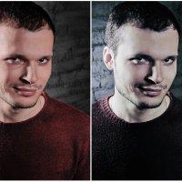 мужская ретушь портрета :: Валерия Камаева