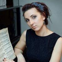Пианистка :: Ольга Цибульская