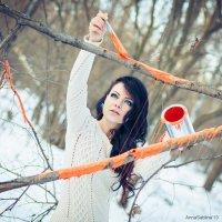Разукрашенный январь :: Анна Саблина