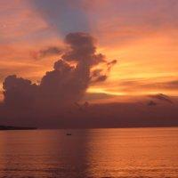sunset at Jimbaran :: Andrey Shayakhmatov