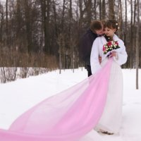 зимняя  свадьба :: Евгения Попова