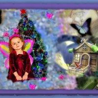 Маленькая фея, чудное создание.... :: Людмила Богданова (Скачко)