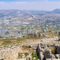 Вид с горы Гризим на лагерь беженцев Балата в окрестностях Шхема :: Тарас Леонидов