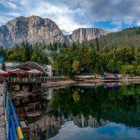 У озера Рица :: Юрий Морозов