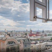 Панорама Москвы с высоты птичьего полета :: Александр Лебедев