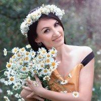 Венец ромашкового романса! :: Райская птица Бородина