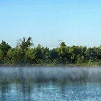 Туман над рекой :: Константин Снежин