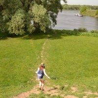 Бегу к реке Коломенке, а может быть к Москве-реке.... :: Владимир Болдырев