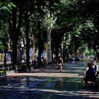Приморский бульвар утром :: Александр Корчемный
