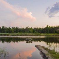 Закатные зеркала и мостик :: Ксения Довгопол