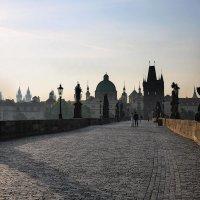 На Карловом мосту :: Анна Корсакова
