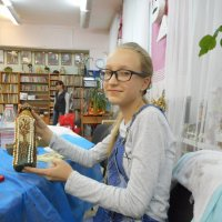 Талантливая девчушка по имени Дарья! :: Ольга Кривых
