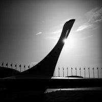 олимпийский факел :: дмитрий м