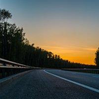 дорога на закат :: Виктор Зенин