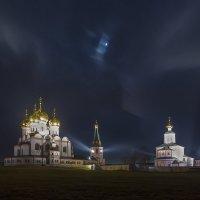 Валдайский Иверский монастырь ночью. :: Игорь Маснык